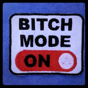 Bitch Mode Sew-On Patch